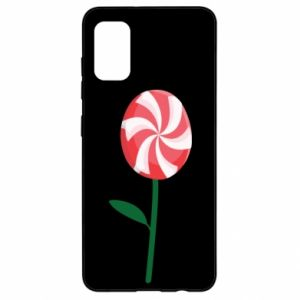 Etui na Samsung A41 Lizak - kwiat