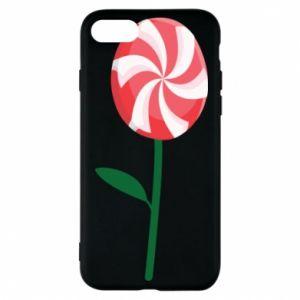 Etui na iPhone 8 Lizak - kwiat