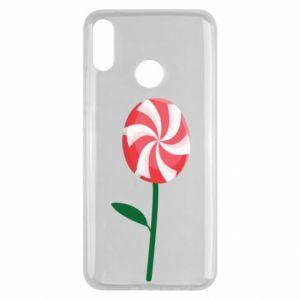 Etui na Huawei Y9 2019 Lizak - kwiat