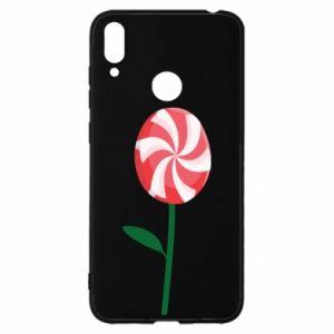 Etui na Huawei Y7 2019 Lizak - kwiat