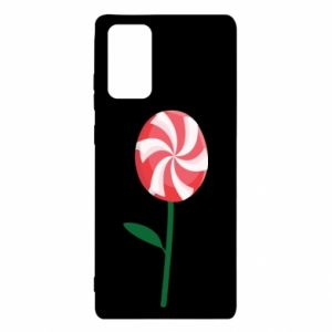 Etui na Samsung Note 20 Lizak - kwiat