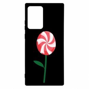 Etui na Samsung Note 20 Ultra Lizak - kwiat