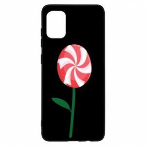 Etui na Samsung A31 Lizak - kwiat