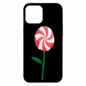 Etui na iPhone 12 Pro Max Lizak - kwiat