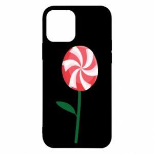 Etui na iPhone 12/12 Pro Lizak - kwiat