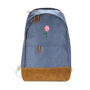 Miejski plecak Lizak - kwiat