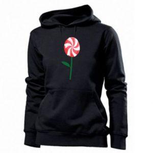 Damska bluza Lizak - kwiat - PrintSalon