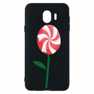 Etui na Samsung J4 Lizak - kwiat