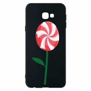 Etui na Samsung J4 Plus 2018 Lizak - kwiat