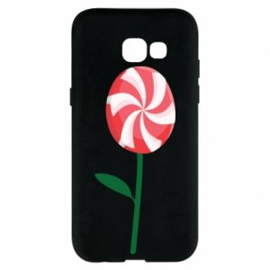 Etui na Samsung A5 2017 Lizak - kwiat
