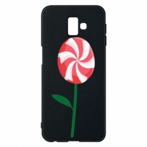 Etui na Samsung J6 Plus 2018 Lizak - kwiat