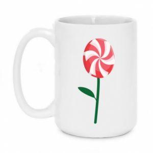Kubek 450ml Lizak - kwiat - PrintSalon