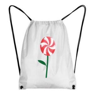 Plecak-worek Lizak - kwiat