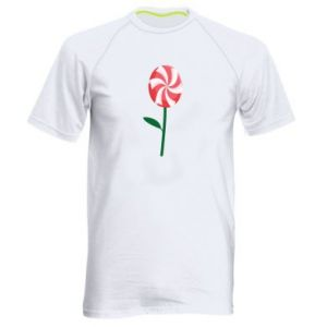 Men's sports t-shirt Candy - Flower