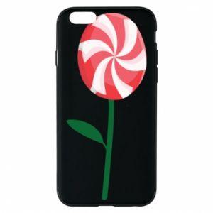 Etui na iPhone 6/6S Lizak - kwiat