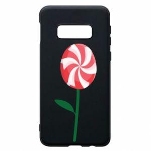 Etui na Samsung S10e Lizak - kwiat