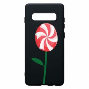 Etui na Samsung S10+ Lizak - kwiat