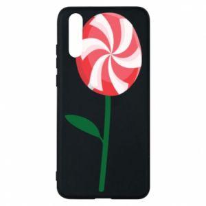 Etui na Huawei P20 Lizak - kwiat