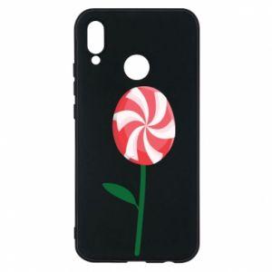 Etui na Huawei P20 Lite Lizak - kwiat
