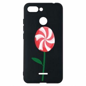 Etui na Xiaomi Redmi 6 Lizak - kwiat