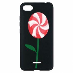 Etui na Xiaomi Redmi 6A Lizak - kwiat