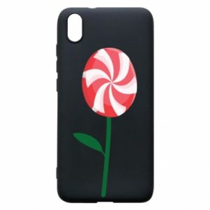 Etui na Xiaomi Redmi 7A Lizak - kwiat
