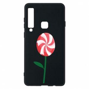Etui na Samsung A9 2018 Lizak - kwiat