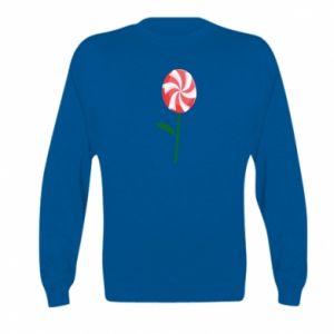Bluza dziecięca Lizak - kwiat