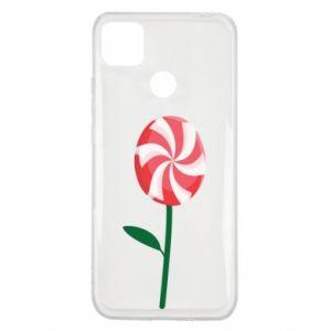 Etui na Xiaomi Redmi 9c Lizak - kwiat
