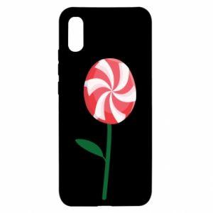Etui na Xiaomi Redmi 9a Lizak - kwiat