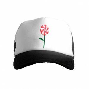 Kid's Trucker Hat Candy - Flower