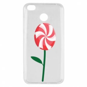 Etui na Xiaomi Redmi 4X Lizak - kwiat