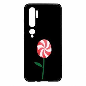 Etui na Xiaomi Mi Note 10 Lizak - kwiat