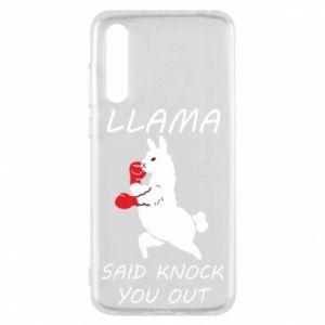 Huawei P20 Pro Case Llama knockout