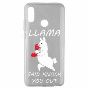Huawei Honor 10 Lite Case Llama knockout