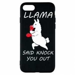 iPhone SE 2020 Case Llama knockout