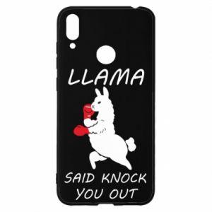 Huawei Y7 2019 Case Llama knockout