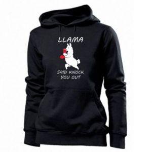 Damska bluza Llama knockout