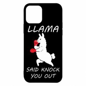 iPhone 12/12 Pro Case Llama knockout