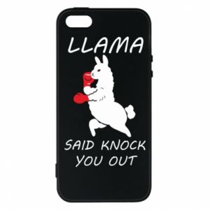 Etui na iPhone 5/5S/SE Llama knockout