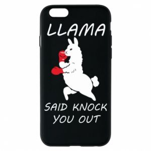 Etui na iPhone 6/6S Llama knockout