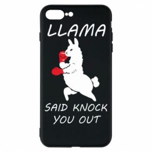 Etui na iPhone 8 Plus Llama knockout