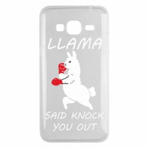 Etui na Samsung J3 2016 Llama knockout