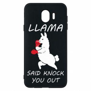 Etui na Samsung J4 Llama knockout