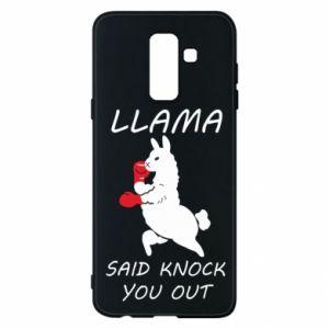 Etui na Samsung A6+ 2018 Llama knockout