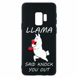 Etui na Samsung S9 Llama knockout
