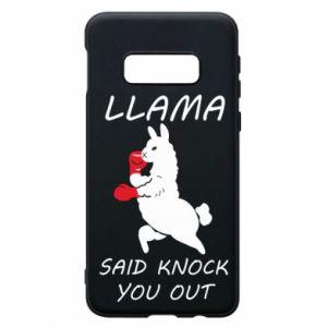 Etui na Samsung S10e Llama knockout