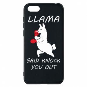Etui na Huawei Y5 2018 Llama knockout