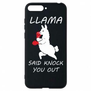Etui na Huawei Y6 2018 Llama knockout