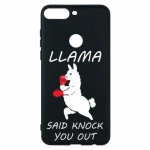 Etui na Huawei Y7 Prime 2018 Llama knockout